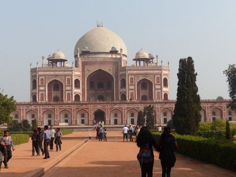 Humayun's tomb and gardens