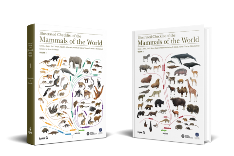 New Book: Illustrated Checklist of the Mammals of the World